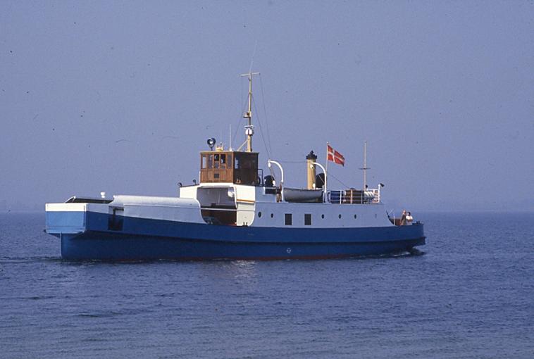 Færgen Femøsund 1985