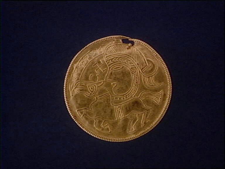 Guld brakteat fra Femø
