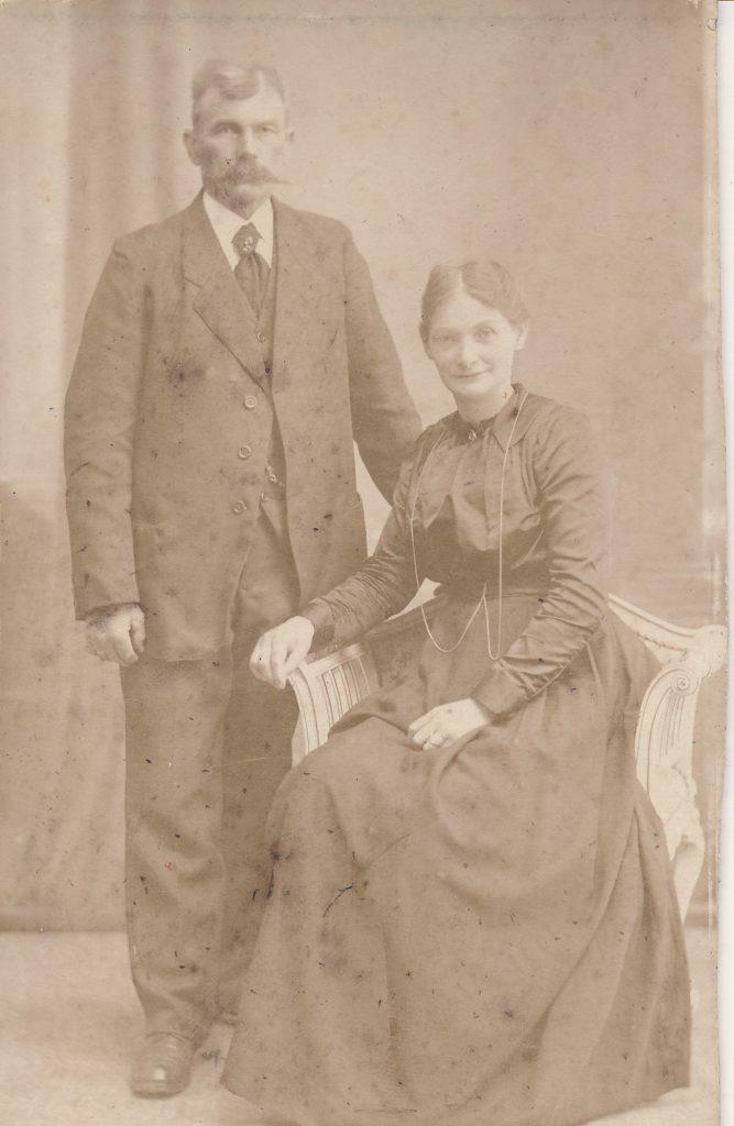 Hans Peter Hansen og hustru Cecilie født Andersen