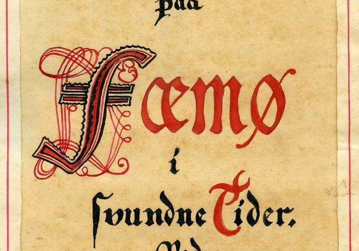 Forsiden af Femø bogen af Niels Stenfeldt